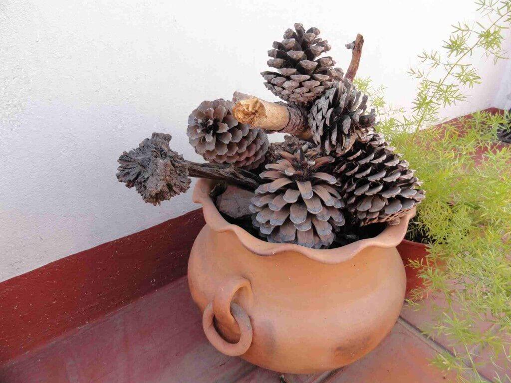 Tinaja de barro el jardin en casa for Tinajas de barro para jardin