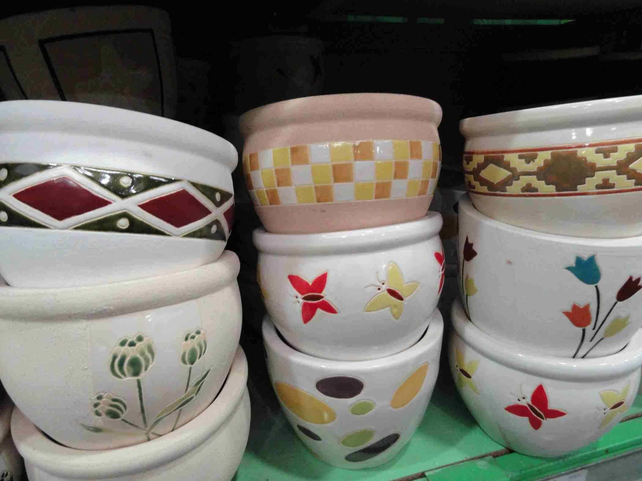 Macetas de ceramica el jardin en casa Macetas ceramica online